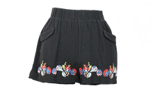Load image into Gallery viewer, See & Be Seen Embroidered Shorts