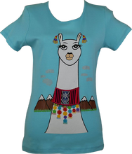 Load image into Gallery viewer, Flirty Llama Tee