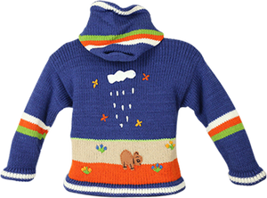 Kids Alpaca Sweater