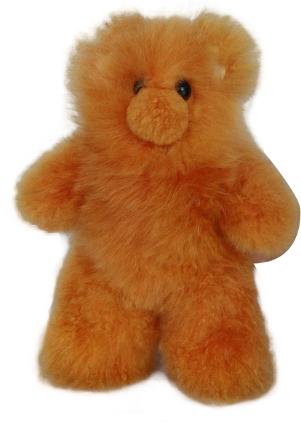 100% Alpaca Fur Medium Teddy Bear