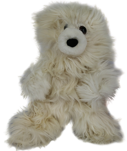 100% Suri Alpaca Medium Teddy Bear