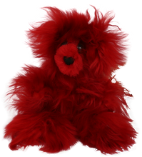 Load image into Gallery viewer, 100% Suri Alpaca Fur Small Teddy Bear