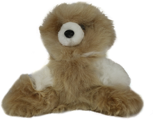 Load image into Gallery viewer, 100% Alpaca Fur Small Teddy Bear