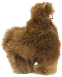 "9.5"" 100% Suri Alpaca Fur Toy"