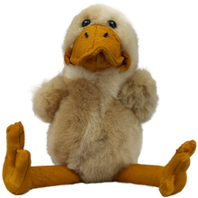 Load image into Gallery viewer, 100% Alpaca Fur Sitting Duck Toy