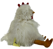 Load image into Gallery viewer, 100% Alpaca Fur Stuffed Chicken