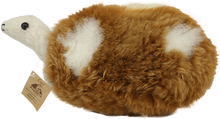 Load image into Gallery viewer, Alpaca Fur Stuffed Turtle