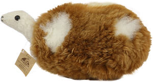 Alpaca Fur Stuffed Turtle