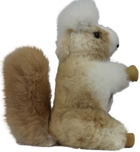 Load image into Gallery viewer, 100% Alpaca Fur Rocky The Squirrel Stuffed Toy