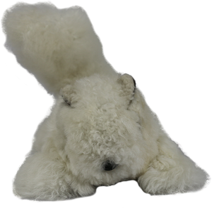 100% Alpaca Fur Rupert Squirrel