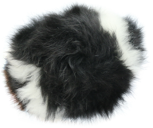 100% Alpaca Fur Stuffed Football