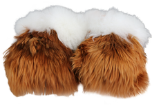 Load image into Gallery viewer, Suri Alpaca Fur Slippers