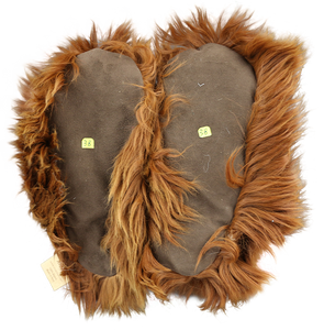 Suri Alpaca Fur Slippers