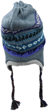Load image into Gallery viewer, Patterned Chullo Alpaca Hat