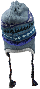 Patterned Chullo Alpaca Hat