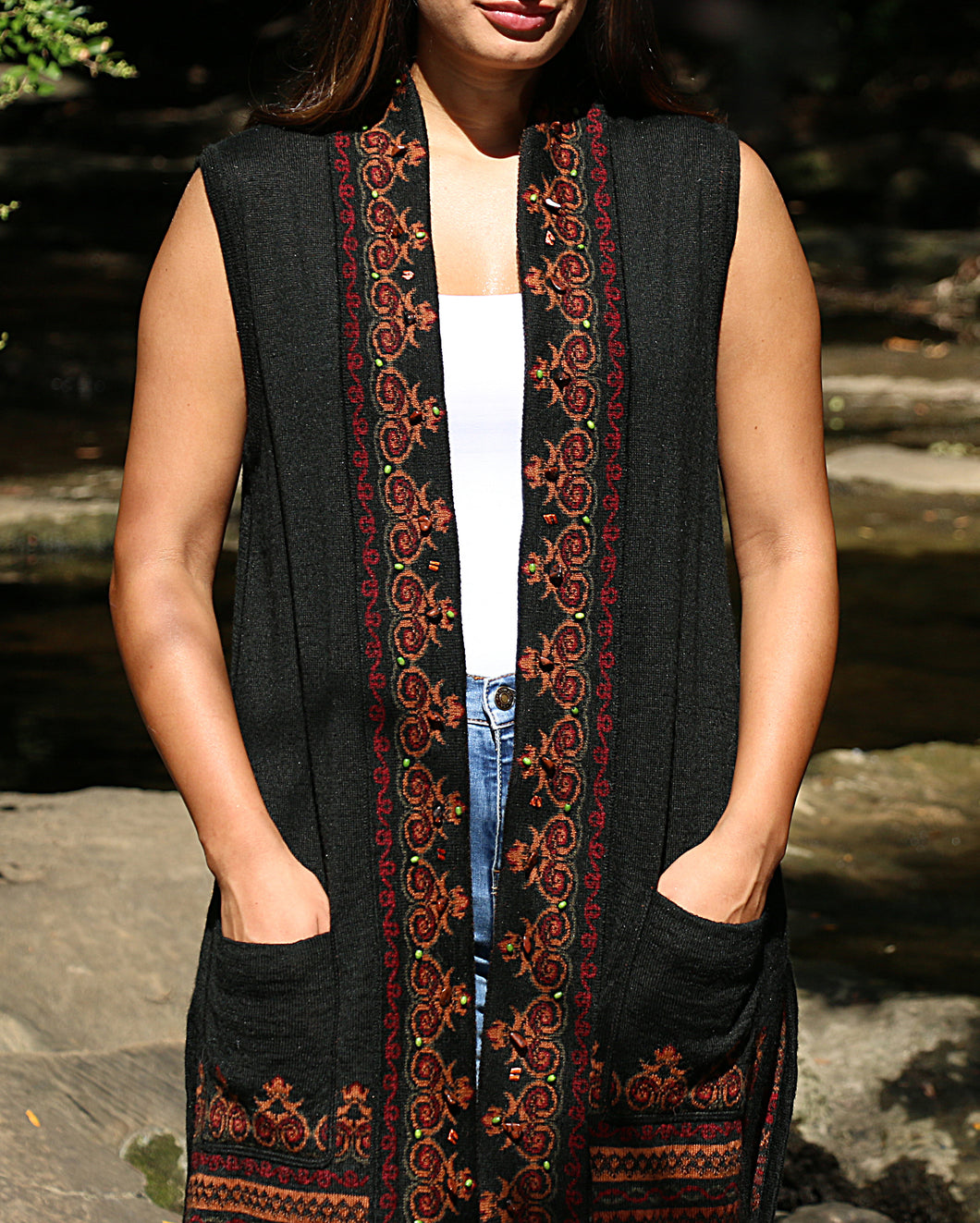 Kimberly Embroidered Vest