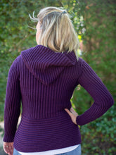 Load image into Gallery viewer, Adira Hooded Alpaca Sweater