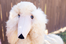 Load image into Gallery viewer, Life Size Poodle Alpaca Fur