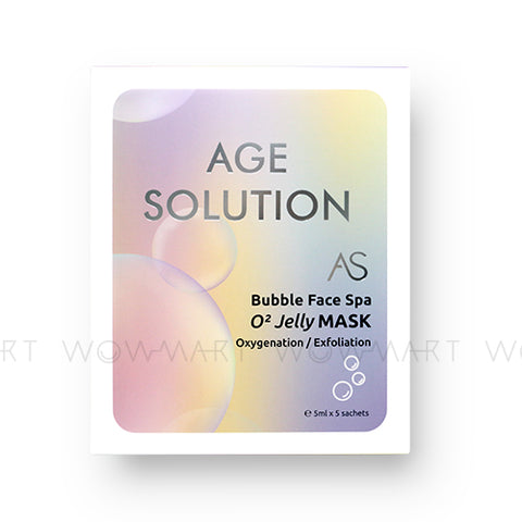 AGE SOLUTION 泡泡激氧面膜