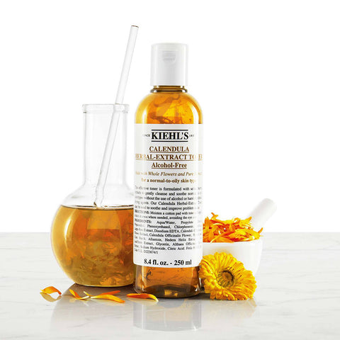 kiehl's - Calendula Herbal-Extract Alcohol-Free Toner 金盞花植物精華爽膚水 (250ml)