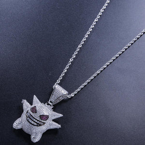 GR8 APE Ice Demon Pendant and Rope Chain