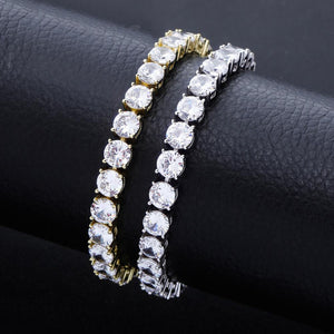 Cubic Zirconia Diamond Tennis Bracelet