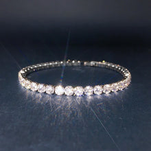 Load image into Gallery viewer, Cubic Zirconia Diamond Tennis Bracelet