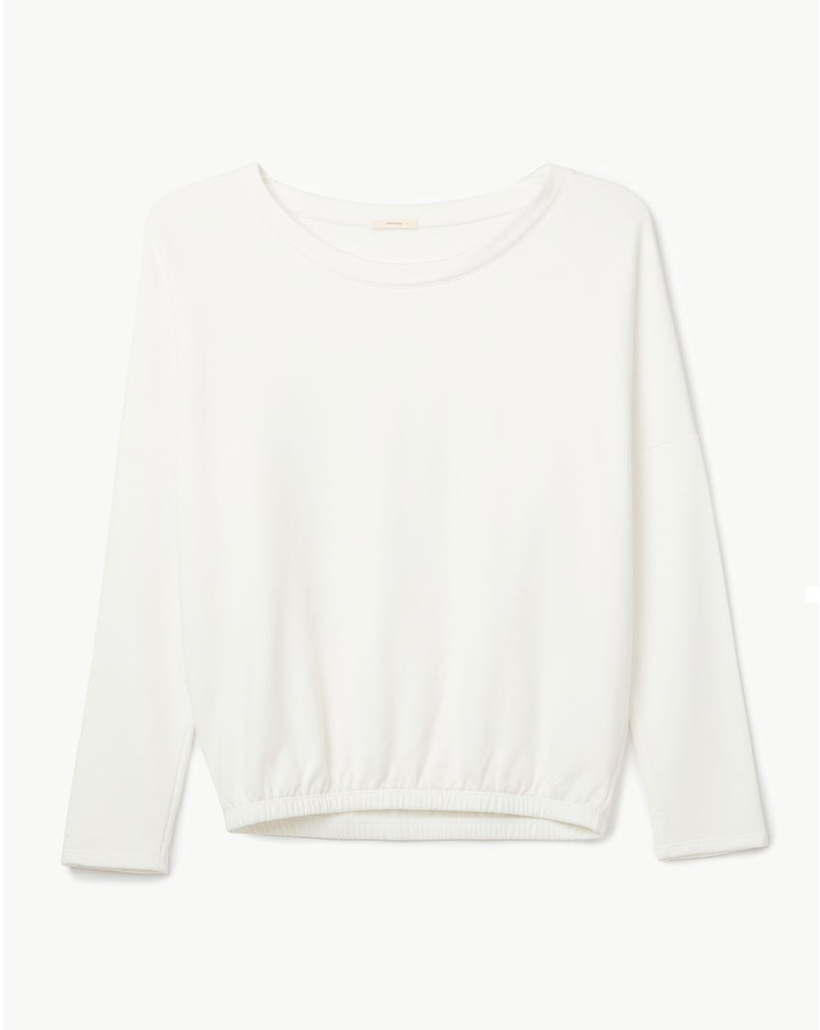 Heather Slouchy Top