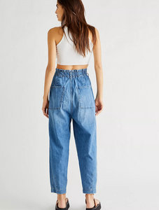 Free People Sayer Pull On Boyfriend Jeans