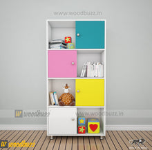 Load image into Gallery viewer, Book Case- New - woodbuzz.in