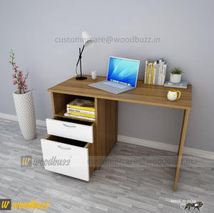 Combo-2C-N (WFH Table + Chair+Lamp)