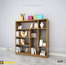 Load image into Gallery viewer, Book Shelf - woodbuzz.in
