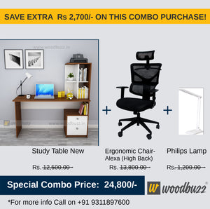 Copy of Combo-3B (WFH Table + Chair+Lamp)