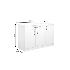 Oberon Side Crockery Unit