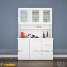 Load image into Gallery viewer, Modish Crockery Unit - 3Door - White
