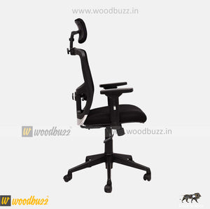 Ergonomic Chair- AMU (High Back) - woodbuzz.in