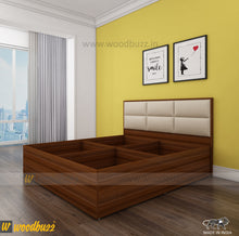 Load image into Gallery viewer, Titan Upholstered Queen Size Bed