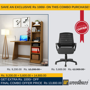 Combo-III  (WFH Table + Chair)