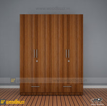 Load image into Gallery viewer, Emerald Four Door Wardrobe 1600 MM