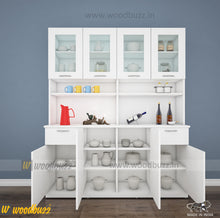 Load image into Gallery viewer, Modish Crockery Unit - 4Door - White