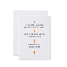 Load image into Gallery viewer, St. Augustine Quotes Card Set