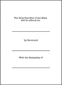 Holy Mass – Celebration of the Holy Mass, Cross. St. Thomas Aquinas Card