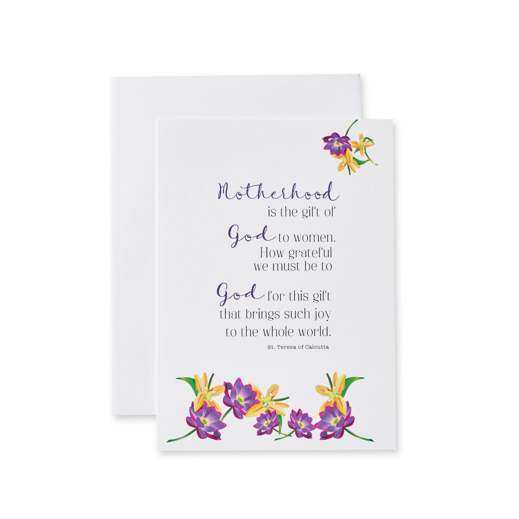 St. Teresa of Calcutta Quotes Card Set