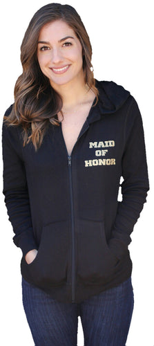 Heart Maid of Honor Hoodie - Full Body