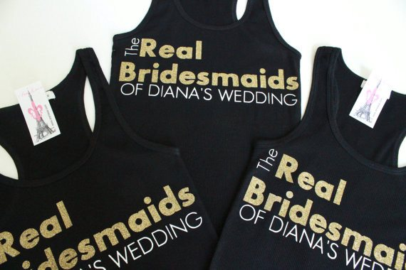 The Real Bridesmaid Ribbed Tank Top - Arenlace Bridal Boutique