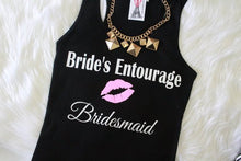 Wedding Party Hot Lip Ribbed Tank Top - Arenlace Bridal Boutique