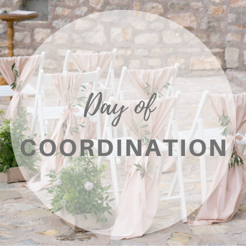 Day of Coordination Wedding Planning package