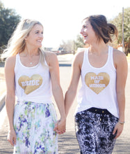 Heart Maid of honor Tank top 3