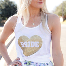 Heart Bride tank top