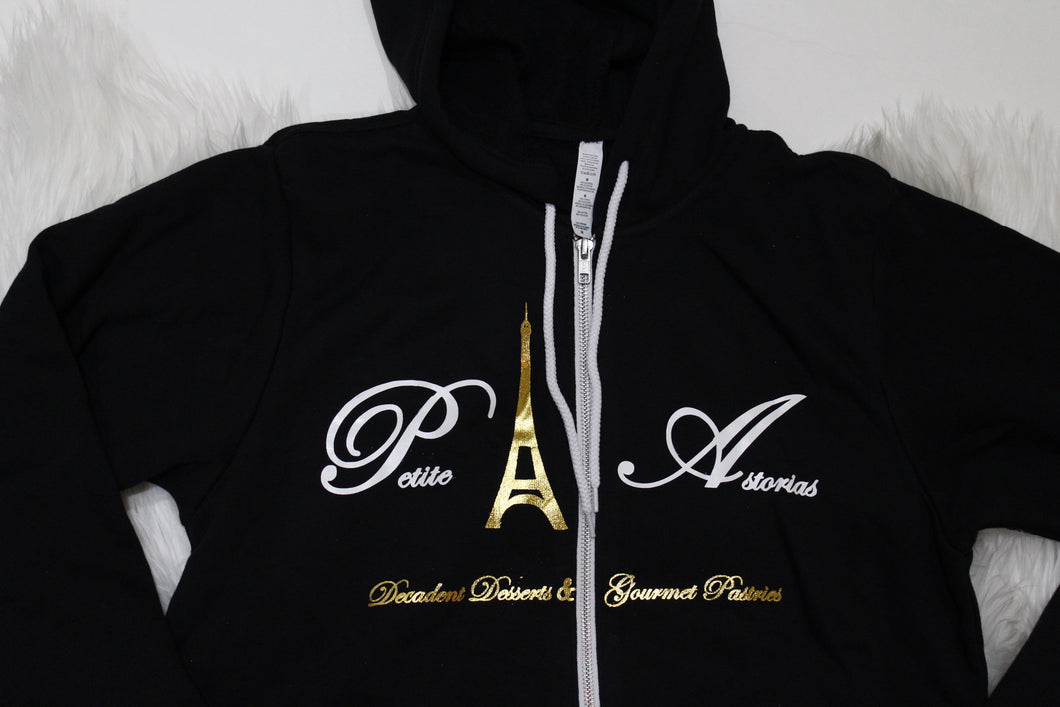 Petite Astorias Unisex Full zip up hoodie